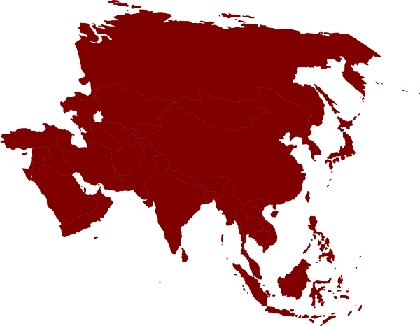 countries across Asia
