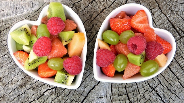 fruits healthy meal